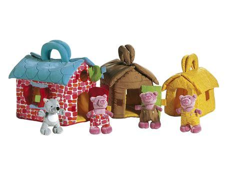 lilliputiens les maisons des 3 petits cochons