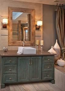 30, Stylish, Distressed, Wood, Bathroom, Vanity, Design, Ideas