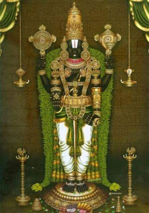 Beautiful Images Of Venkateswara Alankara Hindu
