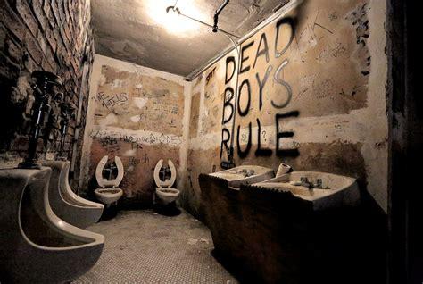 stop   creation  cbgb restroom