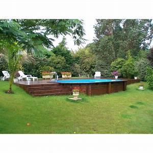 Dimension Piscine Hors Sol : piscine hors sol bois samoa xl l x l x h 1 3 m leroy merlin ~ Melissatoandfro.com Idées de Décoration