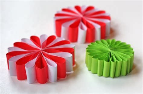 decoration de noel a fabriquer avec du papier visuel 4