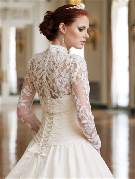 fashion lace wedding dresses  long sleeves images
