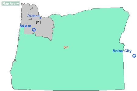 Area Code 541 Information