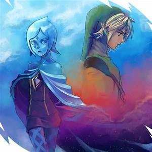 Fi and Link (from Zelda : Skyward_Sword ) | Legend of ...