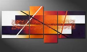 Tableau D École Mural : le tableau mural afterglowing memories 180x80cm tableaux xxl ~ Melissatoandfro.com Idées de Décoration