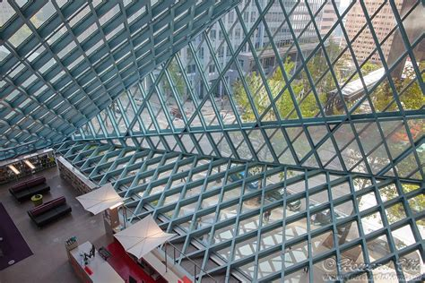 seattle public library interior video