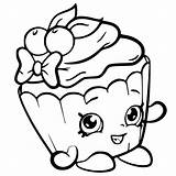 Coloring Pages Shopkin Shopkins Printable Cartoon Ice Cream Print Colouring Sheets Cute April Cakes sketch template
