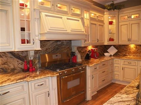 Arlington Cream White Kitchen Cabinets Home Design