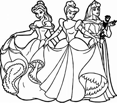 Coloring Princess Disney Pages Pets Princesses Palace