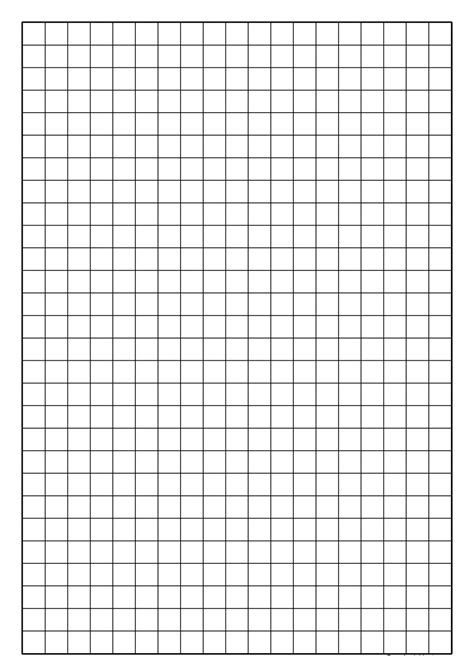 Grid Paper Template Madinbelgrade