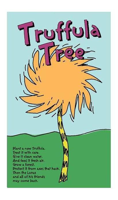 Lorax Truffula Trees Tree Seuss Dr Quotes