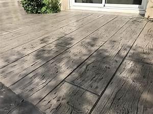 Pavé De Bois : b ton d coratif imitation bois et pav terrasse 91 essonne ~ Premium-room.com Idées de Décoration