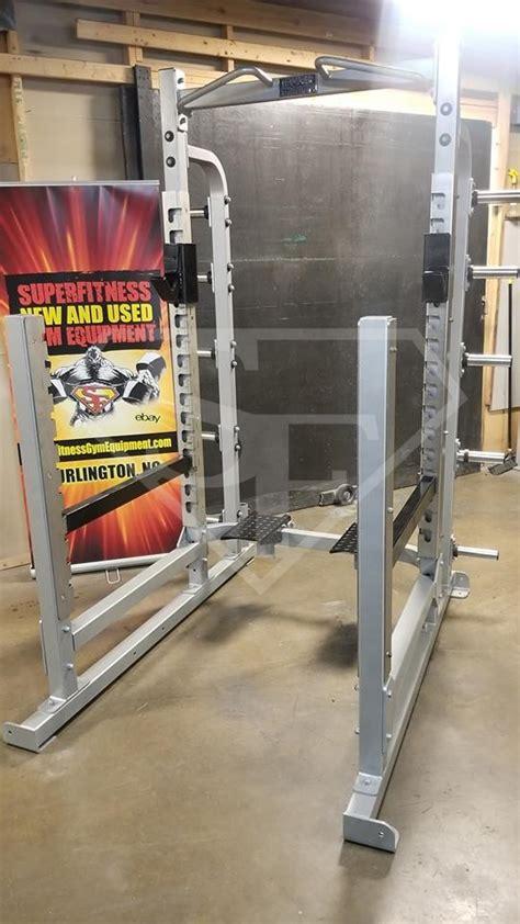hammer strength power rack super fitness    gym equipment