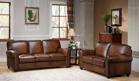 royale camel brown leather sofa c9755s2839ls amax leather