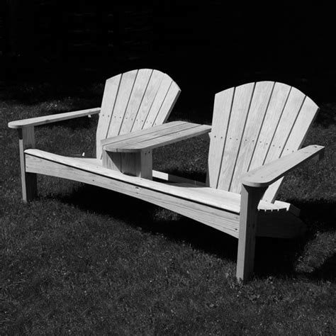 build  double adirondack chair  project plan