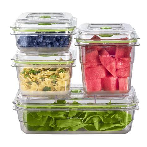 container cuisine foodsaver fresh container 4 set