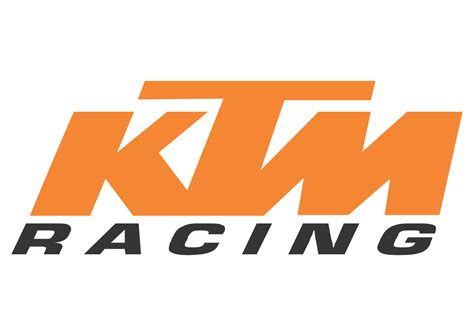 ktm racing logo vector vector logo  ktm