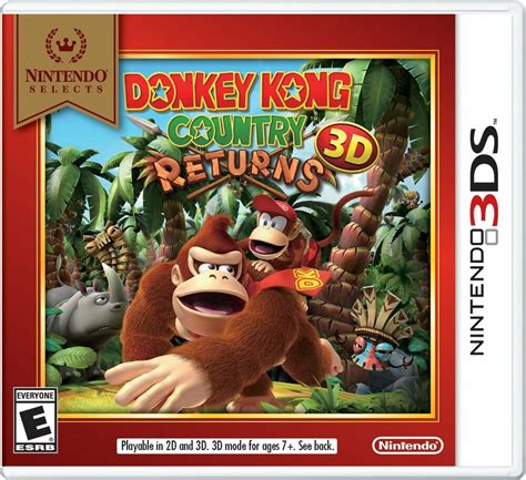 New Donkey Kong Country Returns 3d Nintendo 3ds 2013