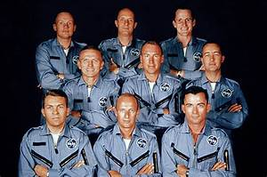 Mercury 7 Astronauts Walking (page 5) - Pics about space