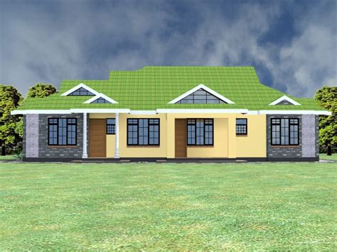 bedroom bungalow house plans  kenya hpd consult