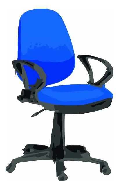 Chair Desk Clip Clipart Clker Cliparts