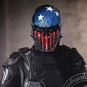 Popular Skull Mask Military-Buy Cheap Skull Mask Military ...