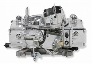 Holley 600 Cfm Street Warrior Carburetor With Manual Choke