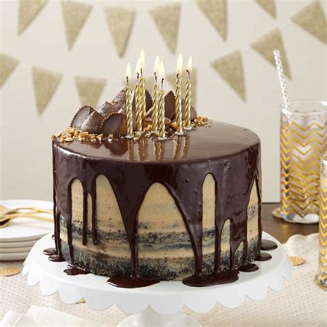 cake birthday ultimate wilton beth chocolate peanut butter wlrecip recipes
