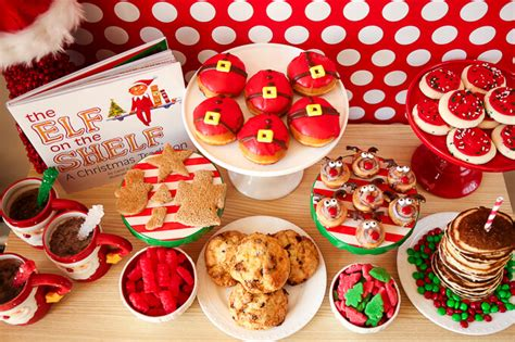 christmas breakfast party 25 theme ideas squared