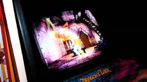 Dragon's Lair Arcade Gameplay Testing For An Error Part1