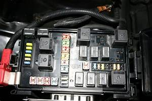 Picture Of Front Fuse Box With Lid Opened