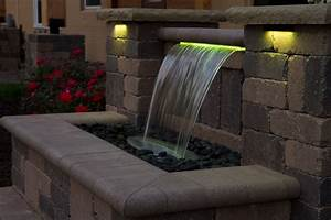 24 quot color changing colorfalls atlantic water gardens