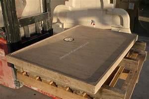 Receveur Sur Mesure : receveur douche en pierre marbre ou granit chemin e en ~ Premium-room.com Idées de Décoration
