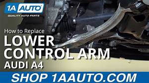 How To Replace Front Lower Rearward Control Arm 02