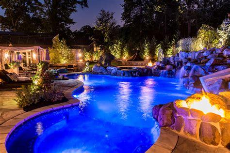 livingston nj custom inground swimming pool design