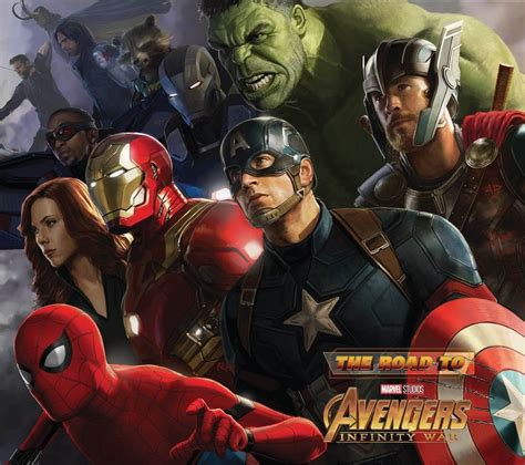 The Road to Avengers: Infinity War - The Art of the Marvel ...