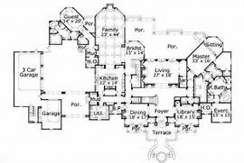 Luxury House Plans  French Home Design OHP981421  19719