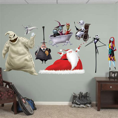 nightmare before christmas collection wall decal shop fathead for nightmare before christmas