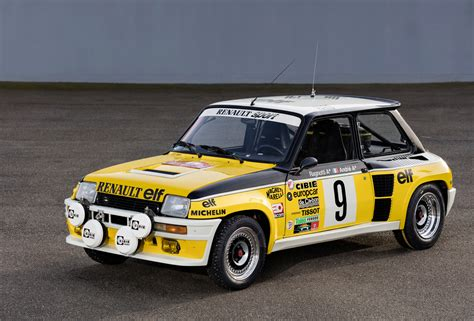 renault 5 turbo racing jean ragnotti returns to the monte historic racer