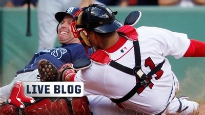 Red Sox Live Blog: Rays Finish Off Four-Game Sweep With ...