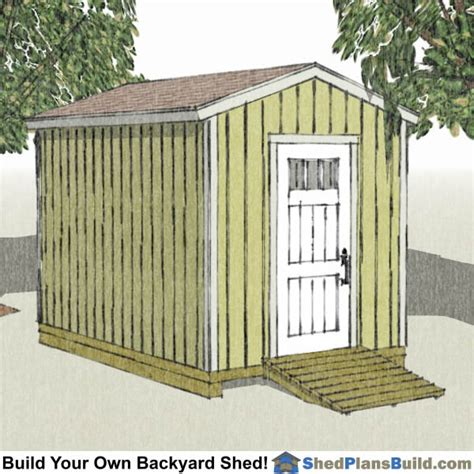 8x8 backyard storage shed shed plans