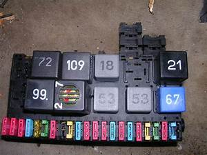 1994 Vw Corrado Vr6 Fuse Box Oem With Relays  U0026 Fuses