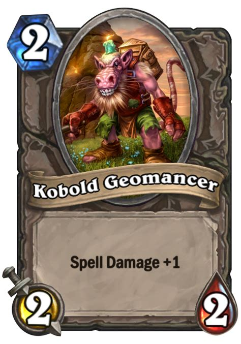 basic shaman deck hearthstone 2014 kobold geomancer hearthstone card