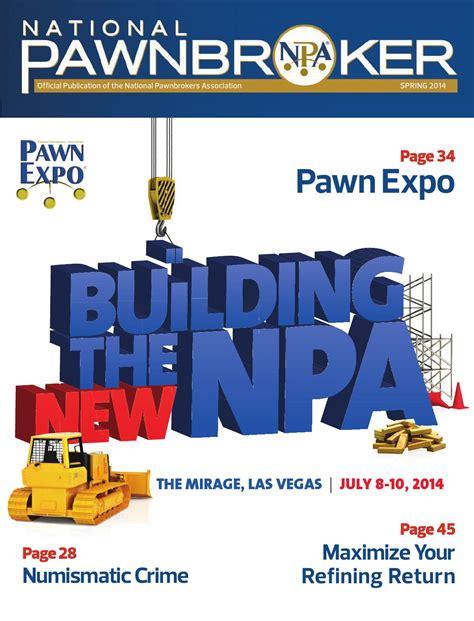 national pawnbroker magazine 2014 by national