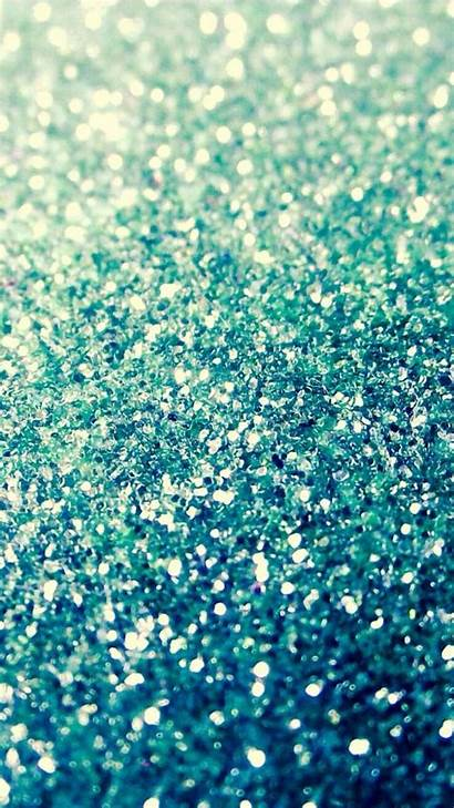 Glitter Iphone Girly Backgrounds Wallpapers Ocean Sparkling