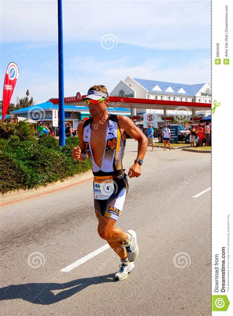 Competition Terms And Conditions Template South Africa by Professional Triathlete Tissink Editorial Stock Photo
