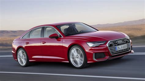 Audi A6 2019 Shown Ahead Of Geneva Debut  Car News
