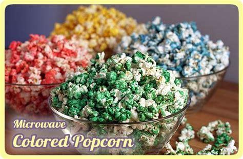 colored popcorn microwave colored popcorn