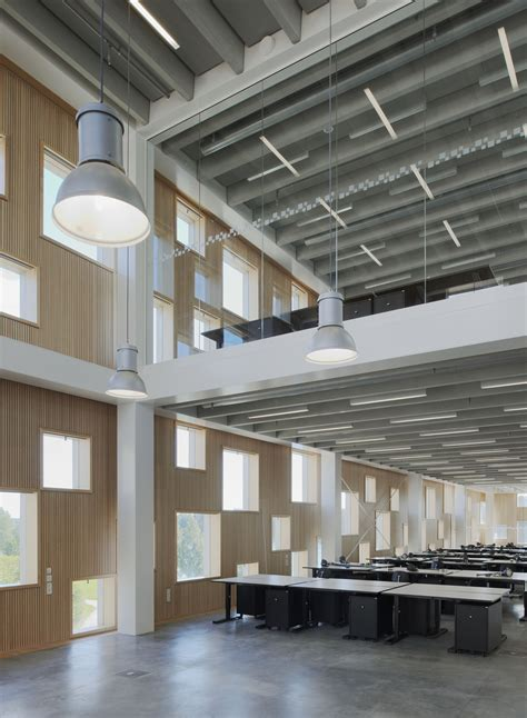 School Of Architecture, Umeå, Sweden, Henning Larsen